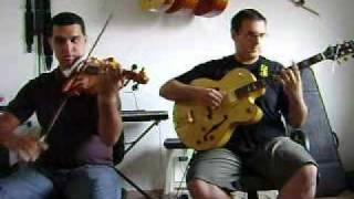 DUO GUITARRA X VIOLINO tocando o chorinho ´SEGURA ELE´