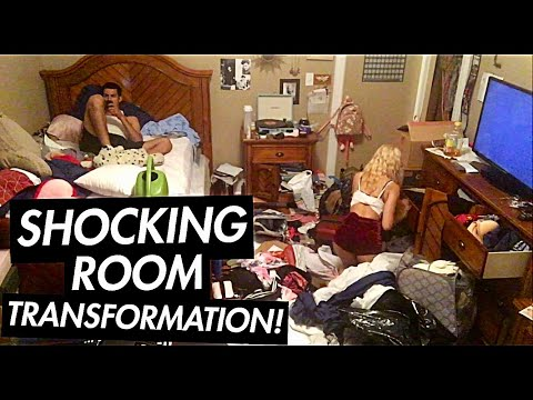 SATISFYING ROOM CLEAN UP | TIME LAPSE