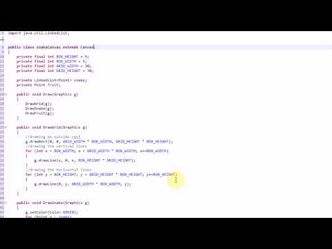 making-snake-in-java:-part-2---creating-structure