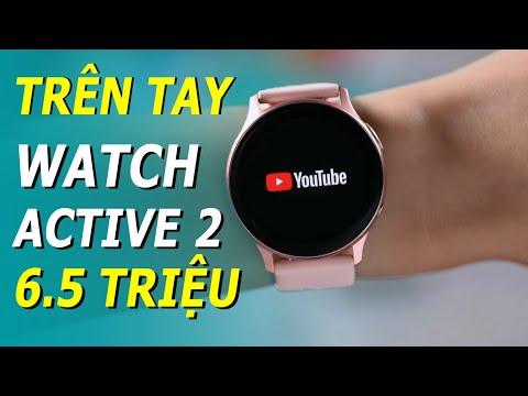 Mở Hộp Samsung Galaxy Watch Active 2: Nên Mua Bản LTE