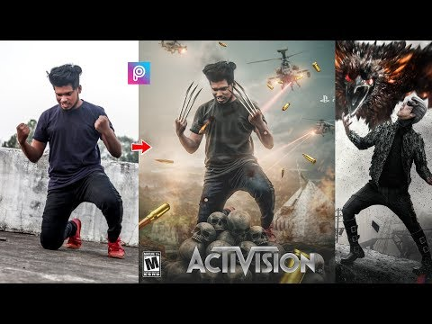 PicsArt X Men Movie Poster Photo Editing Tutorial Step By Step In Hindi In Picsart
