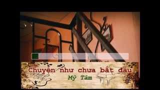 [Karaoke - Khuya Cafe] Beat Chuyện như chưa bắt đầu - Mỹ Tâm (tone nam A#m)