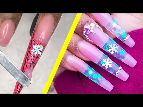 How to Do My Own Christmas Nails at Home -  DIY