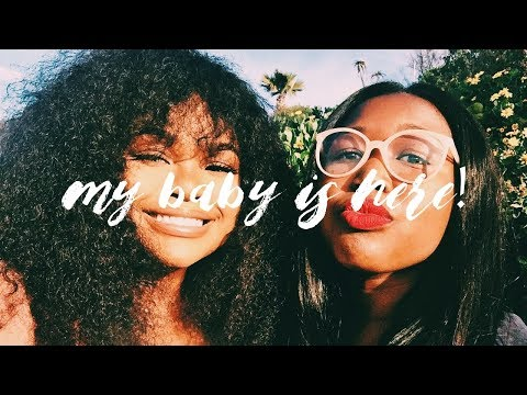 VLOG | A BUSY WEEK! MY BABY IS HERE PLUS JHB QUICKY