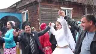 цыганская свадьба 2015. цыгане снега не боятся