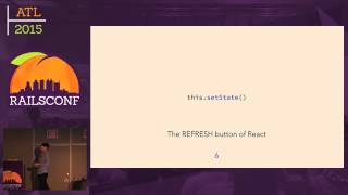 RailsConf 2015 - React.js on Rails