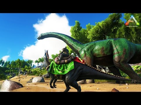 Hike Plays: ARK Survival - BUILDING A BASE!! - THE DINO HUNTER! - ARK Evolved Gameplay