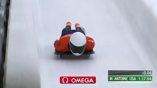 American Antoine 3rd in Park City Skeleton - Universal Sports