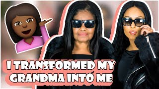 TRANSFORMING MY GRANDMA INTO ME