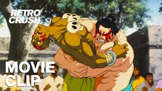 E. Honda makes Dhalsim his main squeeze | Street Fighter II: The Animated Movie (1994)