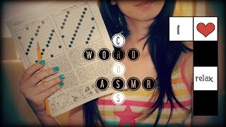 ASMR ITA: Crossword Puzzle Whispering - Fairy Asmr