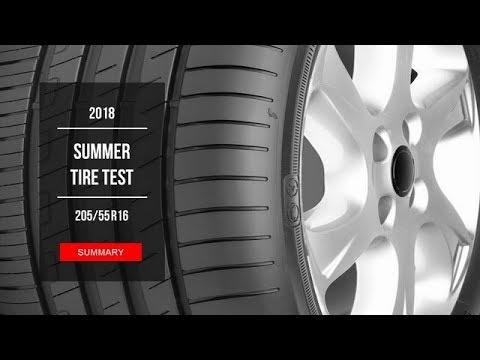 2018 summer tire test results 205 55 r16 youtube. Black Bedroom Furniture Sets. Home Design Ideas