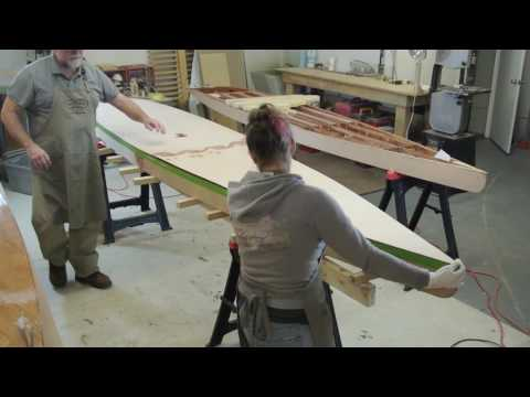 Boardman 14 SUP Construction Video #18: Installing the Deck