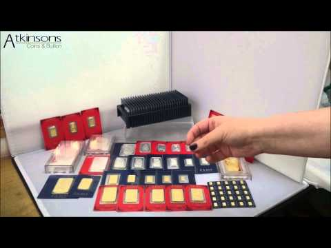 PAMP: Our range in video - Atkinsons Coins & Bullion