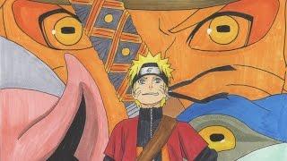 Drawing Naruto Sage Mode