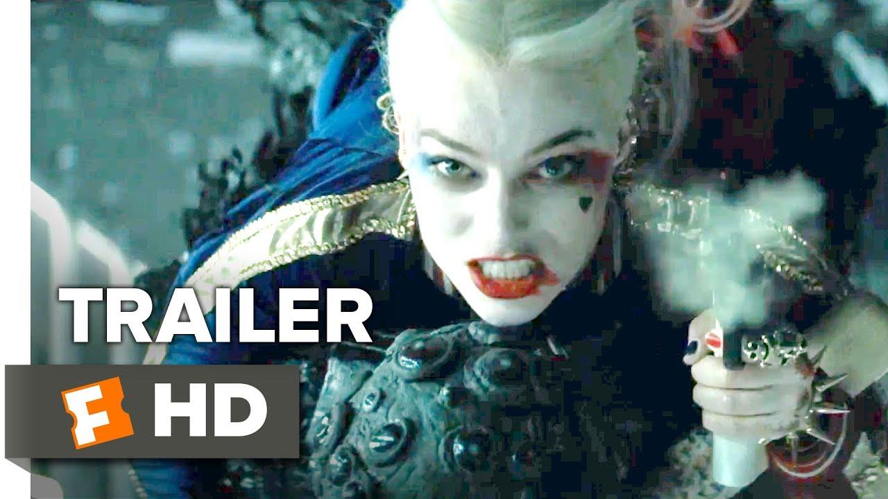 Hd Wallpaper Suicide Squad Official Trailer 2 2016 Ben Affleck Margot