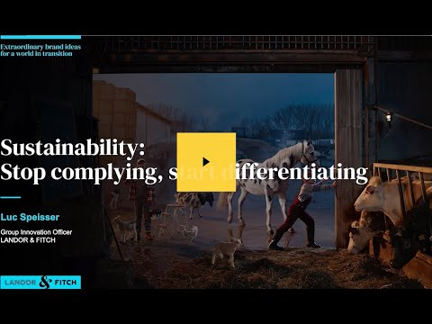 Extraordinary Webinar - Sustainability:  Stop complying, start differentiating