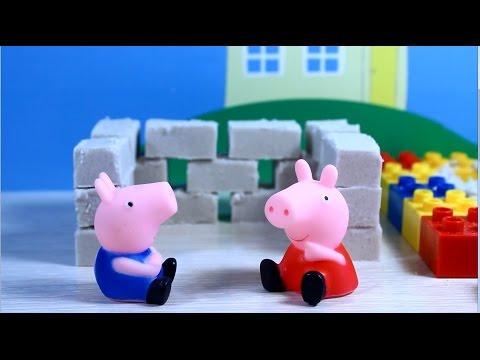 как играть свинку пеппу игрушку видео