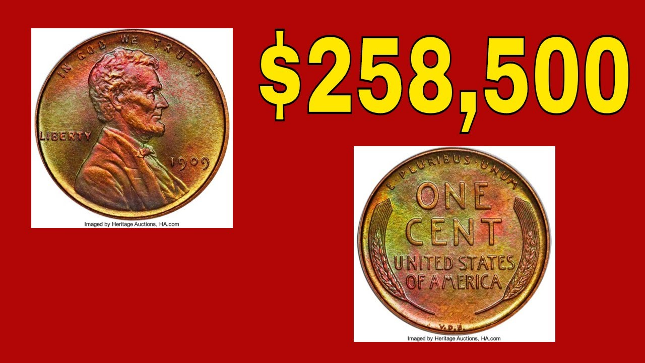 Super Rare Wheat Penny Sold For 258 500 Rare Pennies Coin Value