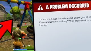 WORST WAYS TO GET BANNED IN FORTNITE BATTLE ROYALE