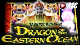 *NEW* DRAGON OF THE EASTERN OCEAN | Aristocrat - BIG WIN! Slot Machine Jackpot Feature & Line Hits