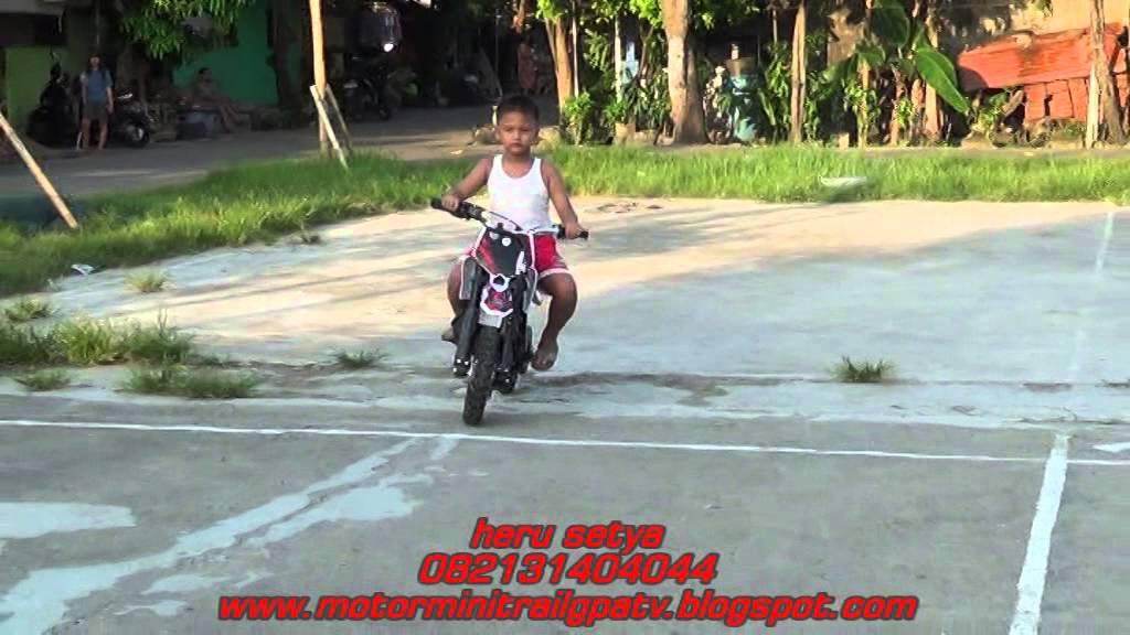 Dealer Motor Trail Mini 50cc 2tak 082131404044 Bandung Batam Youtube