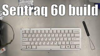 sentraq60 Mechanical Keyboard kit complete build (edited)
