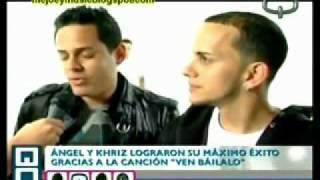 Angel & Khriz hablan de su nuevo video