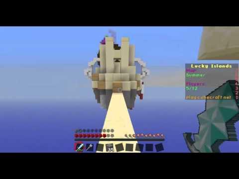 Minecraft Lucky Island [Cubecraft]