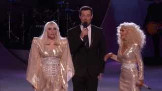 LADY GAGA FT CHRISTINA AGUILERA  DO WHAT U WANT LIVE THE VOICE HD VIDEO