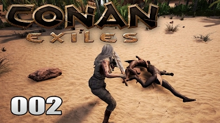 CONAN EXILES [002] [Fleischeslust - Das große Schlachten] [Let's Play Gameplay Deutsch German] thumbnail