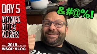 Short Deck & Online Bracelet Events? OK. - 2019 WSOP VLOG DAY 5