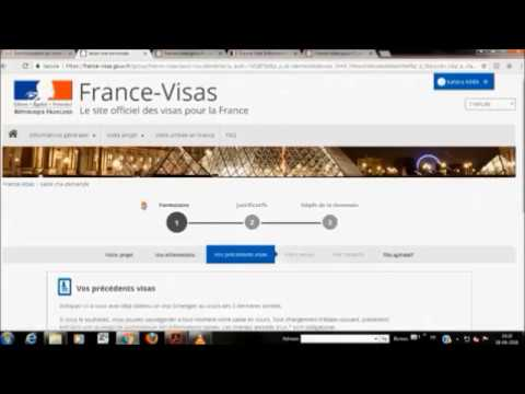 tuto comment prendre un rdv de visa france vfs global. Black Bedroom Furniture Sets. Home Design Ideas