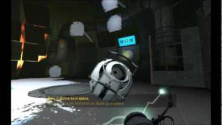 Portal 2 Spoilers - Personality Core Dialogue Part 1 - The Space Core