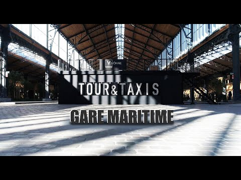 Brussels   Tour & Taxis   Gare maritime    4K