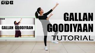Step by step Dance TUTORIAL for Gallan Goodiyaan song | Shipra's Dance Class