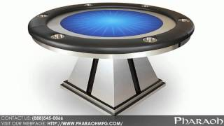 Your One Of A Kind Round Poker Table