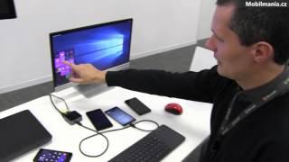 Microsoft Continuum a nové smartphony Lumia 550, 950 a 950 XL
