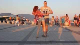 Красивый танец. Хастл Dance Drive.