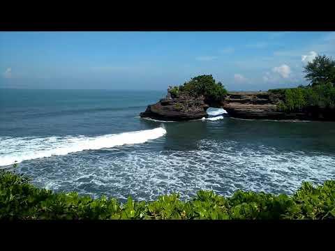 Bali coast shore