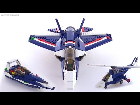 LEGO Creator Blue Power Jet 3-in-1 review! 31039