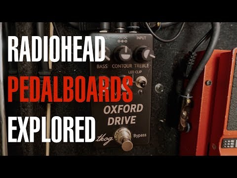 Radiohead Pedalboards Explored - Tutorial With Joe Edelmann