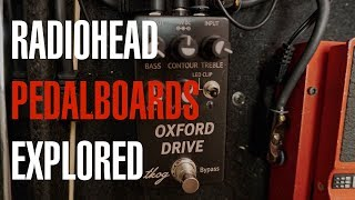 Radiohead Pedalboards Explored   Tutorial with Joe Edelmann