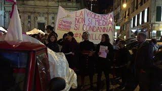 Genova, le donne in corteo contro il disegno di legge Pillon