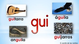 Mi Jardin Infantil: Syllables Gue and Gui thumbnail