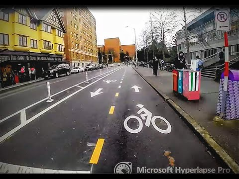 Riding Really Fast at University of Washington Seattle