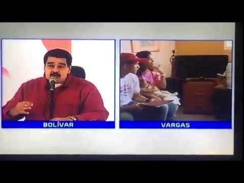 Maduro: Venezuela es Venezuela, jodidos pero felices