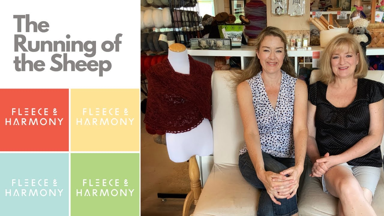 The Fleece & Harmony Knitting Podcast - Ep. 49. The Running of the Sheep