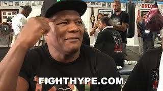 "LUIS ORTIZ FIRES BACK AT AGE CRITICS; DARES DOUBTERS TO STEP UP AND FIGHT ""OLD MAN"""