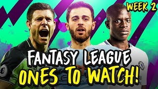 Fantasy Premier League Ones To Watch & Transfers | FPL Gameweek 2
